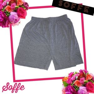 SOFFE Dri-Release Heather Gray Shorts